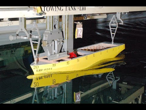 Buoy Laying & Multipurpose Offshore Vessel Resistance Test at Indonesia Hydrodynamic Laboratory