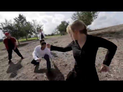 Amy Johnston vs 3 Men