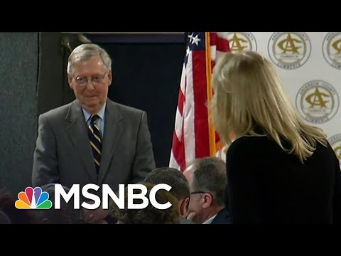 Mitch McConnell and Republicans Experience Eruptions at Town Halls | All In | MSNBC