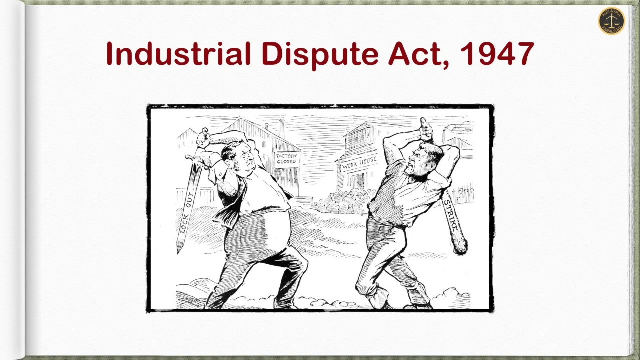 industrial disputes act 1947 important points