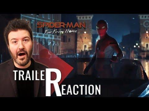 SPIDER-MAN: FAR FROM HOME - Teaser Trailer Reaction e Commento