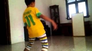 Brazil 2014 celebration dance