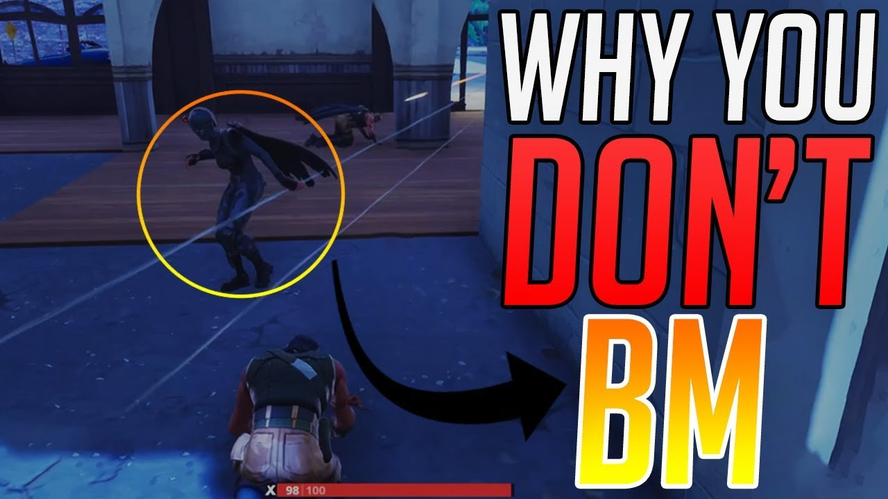 why you don t bm in fortnite so funny - what does bm stand for in fortnite