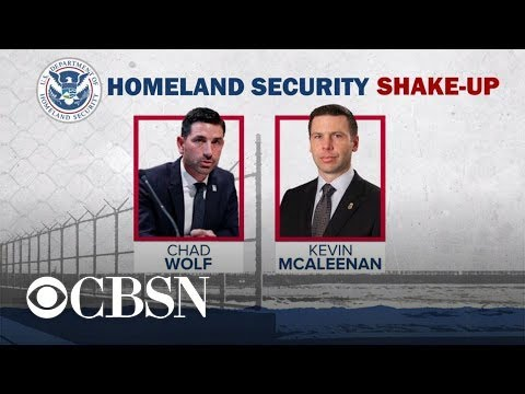 Trump Taps Chad Wolf To Lead Department Of Homeland Security