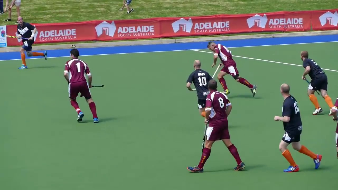 Masters Hockey Australian Championships Adelaide 2016  Over 40's Final Qld  0 VIC 2