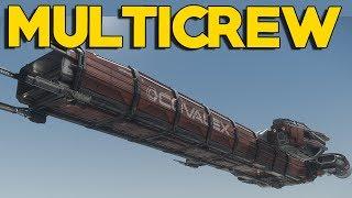 MULTICREW CATERPILLAR   Star Citizen 2.6.3   Part 449 (Star Citizen 2017 PC Gameplay)