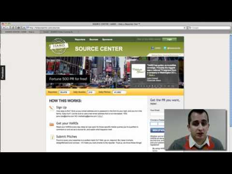 Help A Reporter Out - Dental Marketing Video Walkthorugh