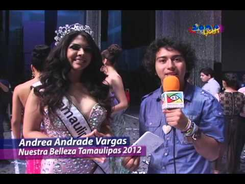 ANDREA ANDRADE Nuestra Belleza Tamaulipas 2012