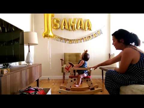 Birthday Unboxing - Sanaa's First Horse