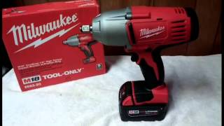 Milwaukee M18 Impact Wrench (2663) Review