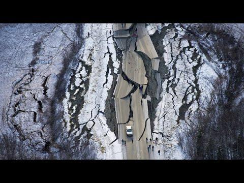 Schweres Erdbeben erschüttert Alaska