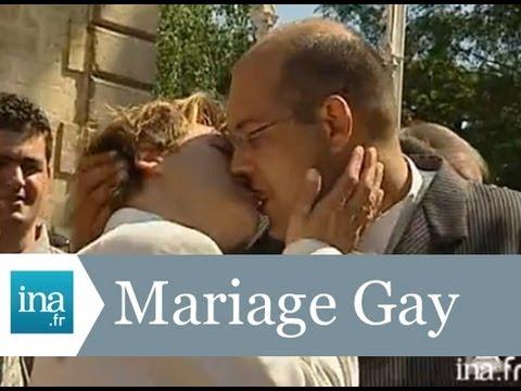 1er Mariage Gay En France à Bègles En Juin 2004 - Archive Vidéo INA