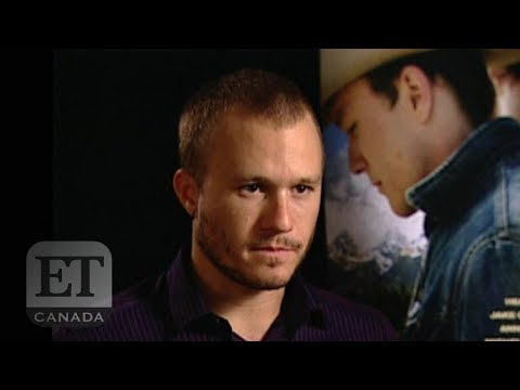 Heath Ledger 'Brokeback Mountain' Interview | FROM THE VAULT