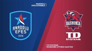 Anadolu Efes Istanbul - TD Systems Baskonia Vitoria-Gasteiz Highlights | EuroLeague, RS Round 12