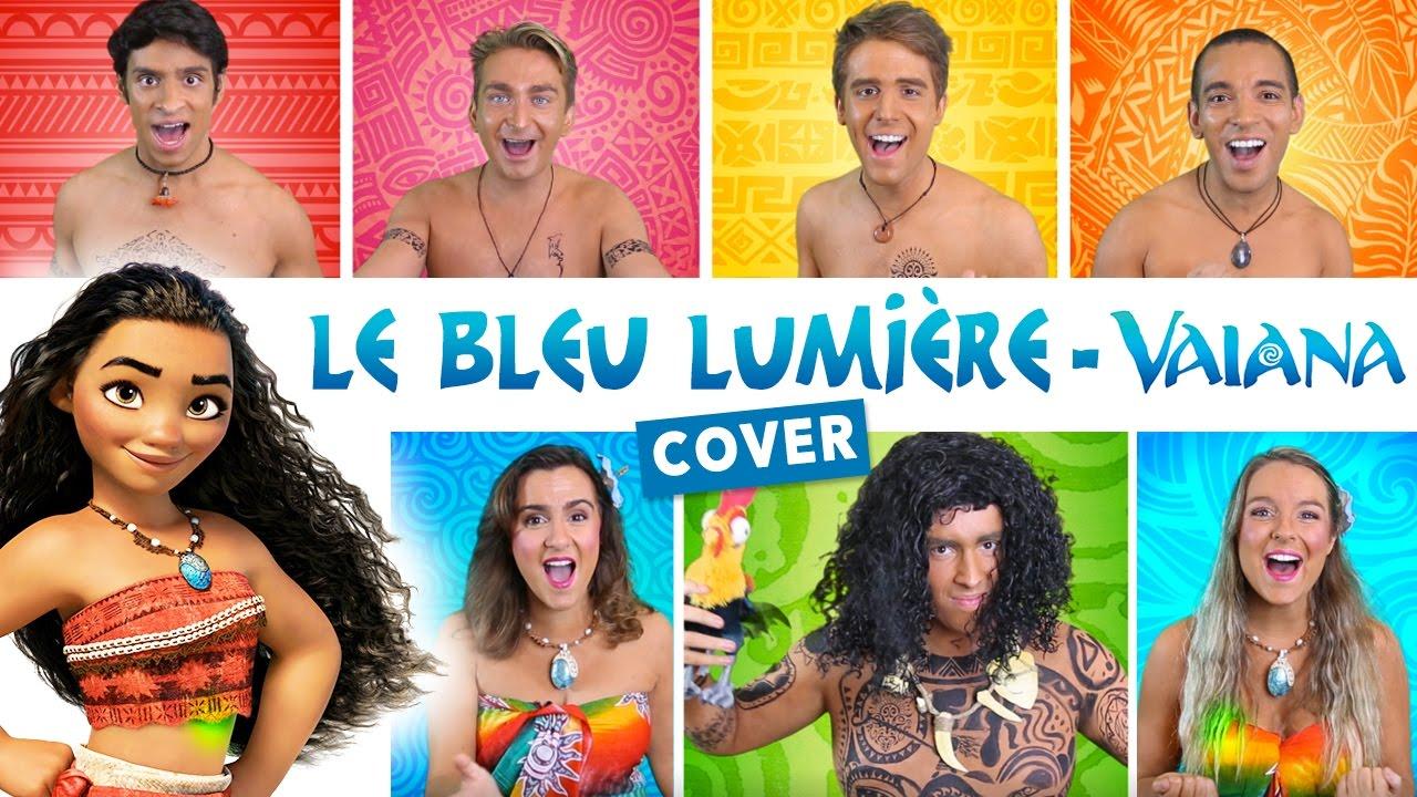 Le Bleu Lumière - Vaiana (How Far I'll Go French Cover) - DisCover