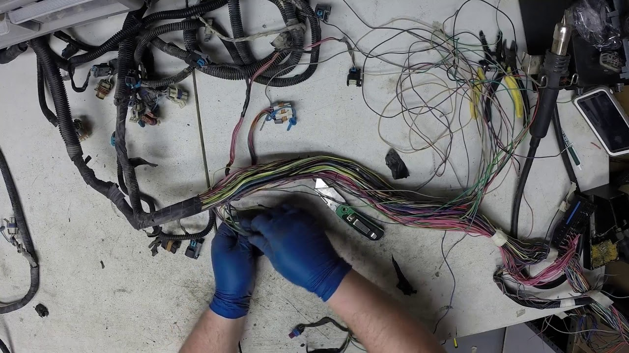Vortec 5 3l Wiring Harness Rework Part 2