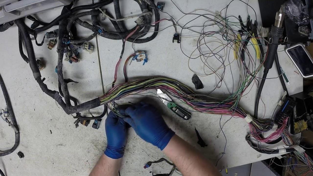Vortec 5 3l Wiring Harness Rework Part 2
