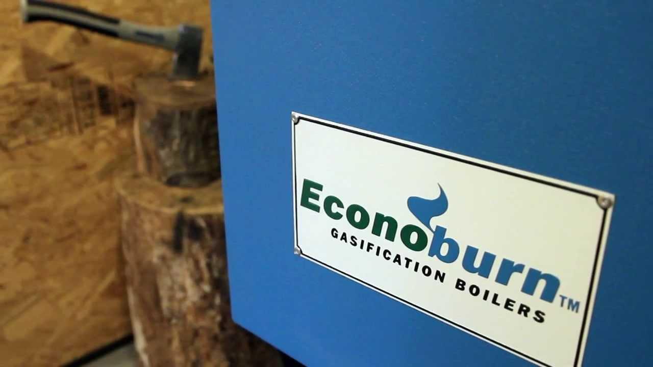 The Econoburn Boiler - How It Works - YouTube
