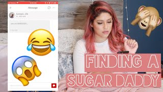I SIGNED UP FOR A SUGAR DADDY WEBSITE!!! | MESSAGING SUGAR DADDY'S | VLOG