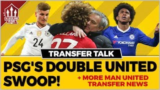 MOURINHO & FELLAINI To PSG? Manchester United Transfer News