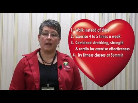 Heart Healthy Tip of the Week - Exercise