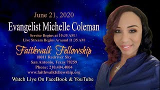 Evangelist Michelle Coleman - Who's Your Father""