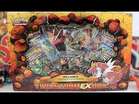 Opening A Pokemon Tyrantrum Ex Box
