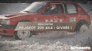 Peugeot 205 4X4 | Bolide sur glace - V6