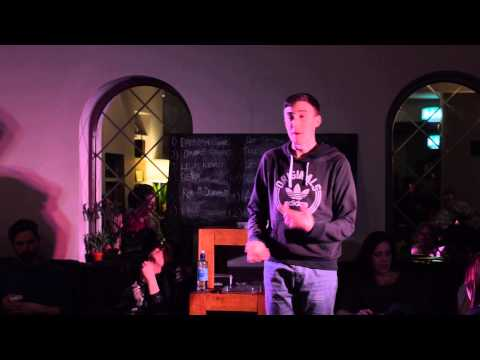 """Hip Hop"" - Lewis Kenny - Slam Sunday 1st March 2015"