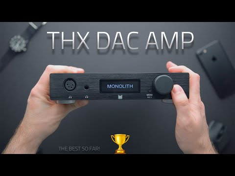 🥇 TOP AMP UNDER $500 - THX DAC AMP REVIEW