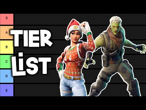 TIER LIST: All Fortnite Uncommon (Green) Skins Ranked!