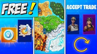 How To Get FREE KAB LLAMA SPRAY & V BUCKS! Season 10 NEW MAP RELEASE DATE! Fortnite TRADING SYSTEM