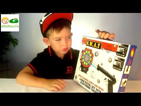 Игрушки для мальчиков: детское оружие.