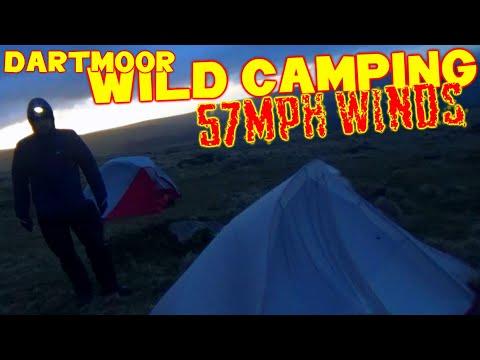 EXTREME WIND WILD CAMP - Naturehike Cloud Up 2 & MSR Elixir 1