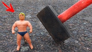 EXPERIMENT: HAMMER VS Stretch Armstrong