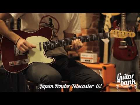 Fender Telecaster TL 62 japan