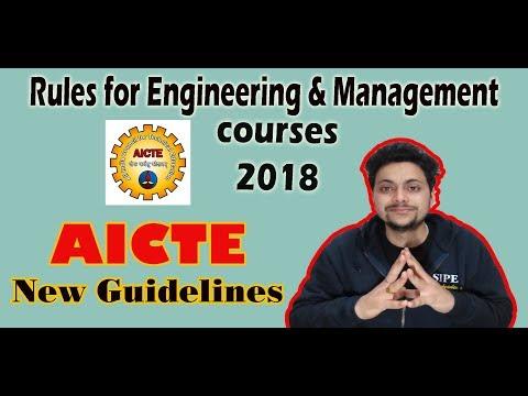 #8|Good News for Engineering Students??|AICTE new guidelines 2018|MasterAmit Talks
