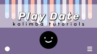 Play Date - Melanie Martinez   Kalimba Tutorials Resimi