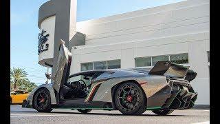 LAMBORGHINI VENENO 750HP BEAST Closer Look at Lamborghini Miami - LAMBO PARADISE