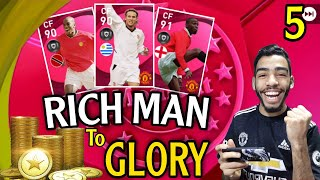 ICONIC MOMENT - MANCHESTER UNITED 🔥RICH MAN TO GLORY 🔥pes 2021 mobile