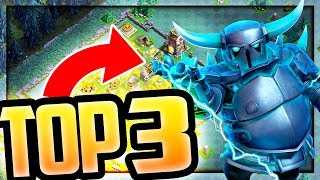 Top 3 SUPER PEKKA Armies! POWER Potion - Level 16! Clash of Clans Strategy