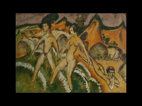 Ernst Ludwig Kirchner  恩斯特.路德維希.基爾希納  (1880-1938)  Expressionism   German