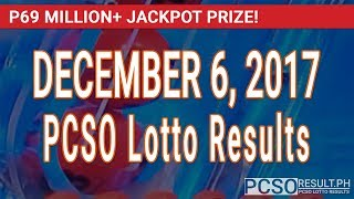 PCSO Lotto Results Today December 6, 2017 (6/55, 6/45, 4D, Swertres & EZ2)