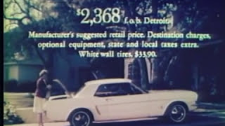 1964 Ford Mustang Commercial! Rare Car Ads (1 of 16) TV Ad