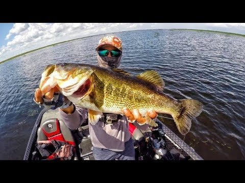 Lake Okeechobee Bass Fishing W/ Mikey Balzz!!! On The Hunt For My Personal Best Bass!