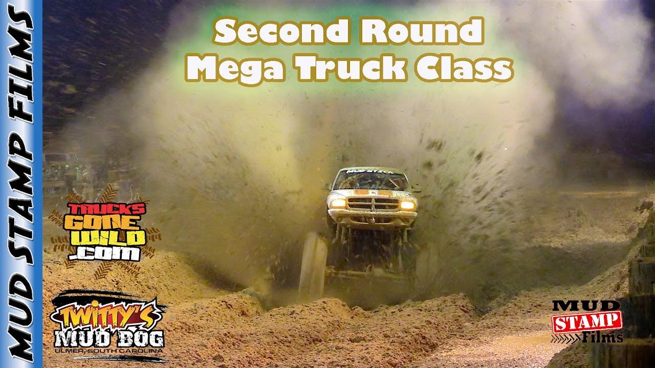MEGA TRUCK CLASS SECOND ROUND- TWITTYS MUD BOG