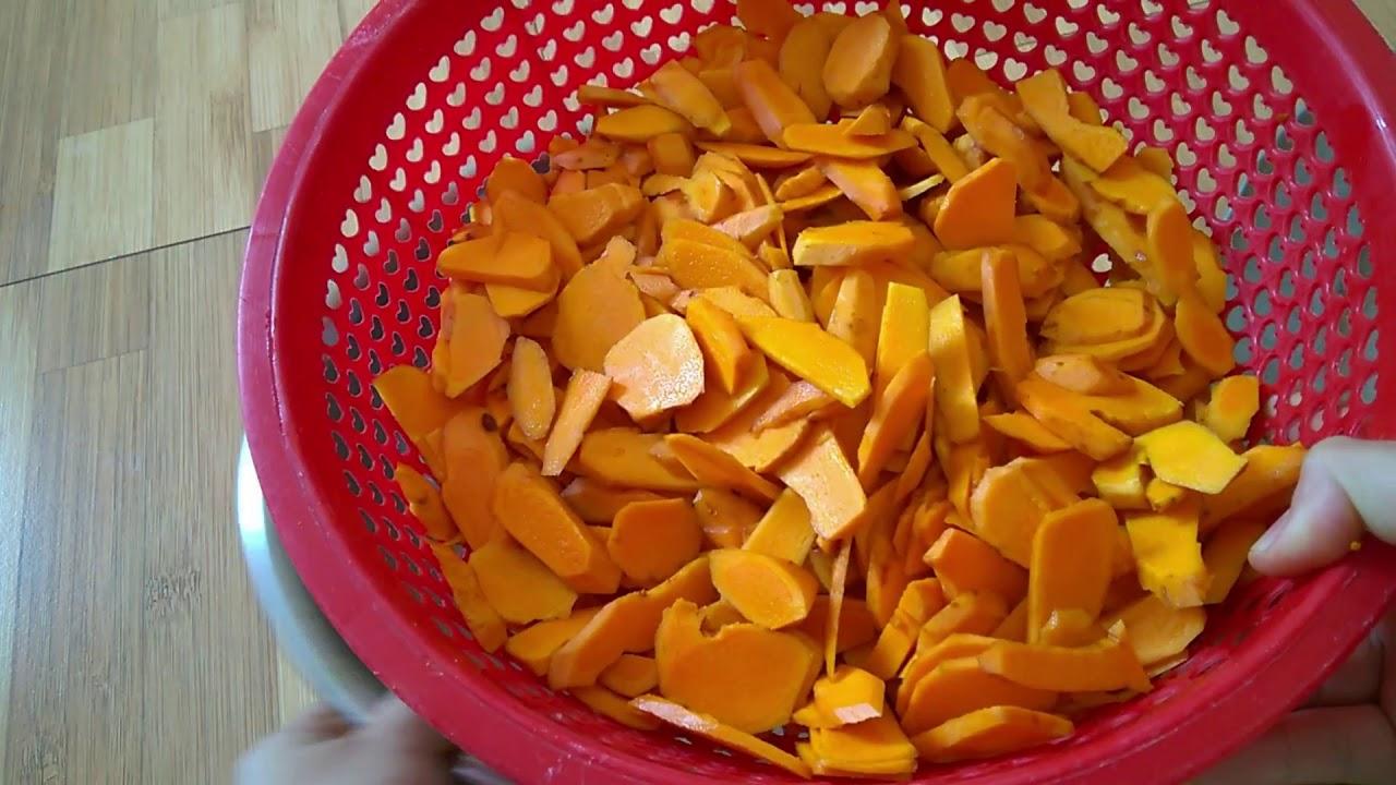 Hướng dẫn làm bột nghệ từ nghệ tươi, sử dụng trong chế biến món ăn hàng ngày