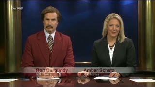 Ron Burgundy's real life newscast