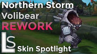 Northern Storm Volibear REWORK - Skin Spotlight - Arctic Ops Collection - League of Legends