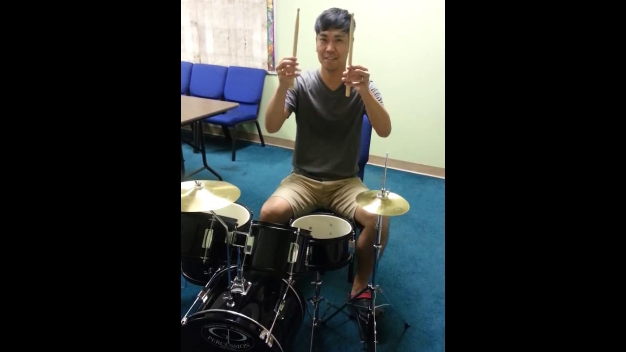 gp percussion 5 piece junior drum set youtube. Black Bedroom Furniture Sets. Home Design Ideas
